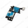 Шлейф для Samsung N7100 + разъем сим + разъем карты памяти