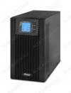 ИБП - UPS Online 3000, интерфейс USB, с двойным преобразованием энергии, правильная синусоида 3000BA/2400Вт; АКБ 12В 9Ah -6шт.; Время переключения 0мс; Розетки 3шт.; RJ11/RJ45, RS232, слотSNMT; Габариты упаковки 563х275х446мм.; Вес 27кг.
