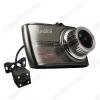 Видеорегистратор автомобильный Space Touch Duo Full HD c 2-ой внешней камерой microSD - карта 4-128Gb; Li-ion аккумулятор; дисплей 3.5