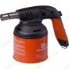 Газовая паяльная лампа KEMPER 1040A PZ тип баллона прокалываемый, расход газа 140 г/час, пьезоподжиг,