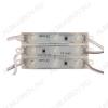 LED Модуль светодиодный 3*SMD5050 белый 6500K; 12V; 120°; 0,72W;  54-60Lm, 15см