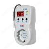 Терморегулятор ТР-12-2 поддерживает заданную температуру воздуха и защищает нагрузку Ток максимальный 16A(3,6кВт); Диапазон регулирования температуры -10+90°С (Гистерезис 0,1+30°С) напряжения Umin=160-210В,Umax=230-280В.