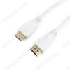 Шнур (CC-HDMI4-W-1M) HDMI шт/HDMI шт 1.0м (ver 1.4) белый Plastic-Gold