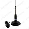 Антенна Sirio ML-145 автомобильная Магн. основание; d=125мм; штырь 1,44 м; кабель 3,6 м; мощность до 900 Вт.