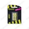 Аккумулятор R03/AAA 600mAh 1.2V;NiMh;блистер 2/20                                                                                                          (цена за 1 аккумулятор