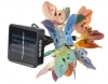 Фонарь садовый SLR-G02 гирлянда бабочки 10LED;длина 3,5м питание аккум. AA 1.2V; заряд от солнечной панели; автоматич. включение от фотоэлемента