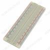 Макетная плата Breadboard 760, для монтажа без пайки 760 контактов; шаг 2.54мм