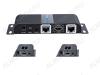 HDMI-Разветвитель 1/2 (LKV712) с удлинением по витой паре до 40м 1 HDMI-вход, 2 HDMI-выхода, передача сигнала по кабелю