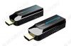 HDMI-Удлинитель по витой паре до 50м LKV372S в компактном корпусе Передача сигнала по кабелю