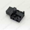 Выключатель ВК 8А с фиксацией в нажатом положении (A0115) HLT-10A 10A 250V