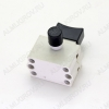 Выключатель-бочонок с большим фиксатором (A0162) FA4-10/2D 10A 220V