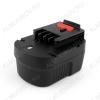 Аккумулятор для Black&Decker 12В; 2,0Ah NICd Соответсвует моделям: A12, A12-XJ, A12EX, A1712, FS120B, FS120BX, FSB12, HPB12