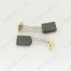 Щетки графитовые 5х11х16 (A0226) пружина, пятак, (2 шт) для Интерскол ДУ-1000Wt