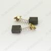 Щетки графитовые 7х14х16 (A0235) пружина, пятак, уши, (2 шт) для Интерскол УШМ-1800Wt