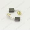 Щетки графитовые 5х8х11 (A0243) пружина, пятак, (2 шт) для Интерскол ДУ-350550