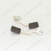 Щетки графитовые 5х8х16 (A0388) поводок, клемма кольцевая, (2 шт) для дрели Ростов 1035,1036, TRU, лобзик Фиолент