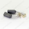 Щетки графитовые 5х8х17 (A0404A) пружина, пятак, уши, (2 шт) для Интерскол П-710
