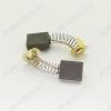 Щетки графитовые 6.5х14х16 (A0259) пружина, пятак, уши, (2 шт) для Makita СВ-155