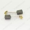 Щетки графитовые 6.4х7.4х12 (A0261B) пружина, пятак, уши, (2 шт) для Hitachi H41