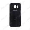 Задняя крышка для Samsung G930 Galaxy S7 (черный), оригинал