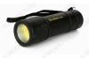 Фонарь LED16001 пластик светодиодный LED COB 3W; питание 3xR03; цвет черный