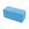 АудиоКолонка A128 голубая
