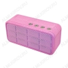 АудиоКолонка A128 розовая