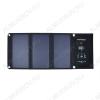 Солнечное зарядное устройство 21Вт Ячейки SunPower с КПД 23%;Выход USB: 5,5В/2А 2шт.;в развернутом виде 700х290х16 мм., в свернутом виде 290х170х20 мм.;0,57кг.