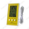 Термометр цифровой DC105 Измерение наружной и внутренней температуры, внутренней влажности; (гарантия 6 месяцев)