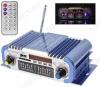 Радиоконструктор Усилитель 2х20Вт с медиаплеером USB/MP3/FM/SD HY601 Количество каналов 2*20Вт; Выход RMS; Вход 2*RCA; Питание 12В/5А -5.5мм гнездо; FM 87.5-108мГц; Размер 16.5*8.5*4.5см; пульт ДУ