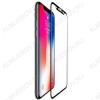Защитное стекло Apple iPhone X черное