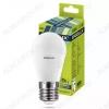 Лампа светодиодная 220В/  9,0Вт/ E27/ 6500К (холодный белый) (L465)/ 780Lm (LED-G45-9W-E27-6K);