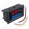 Вольтамперметр цифровой (0-100VDC; 0-10A)