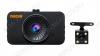 Видеорегистратор автомобильный F3 Full HD со 2-вынесенной камерой microSD - карта 4-32Gb; Li-ion аккумулятор; дисплей 2.7