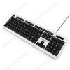Клавиатура GK-110L Black/ White