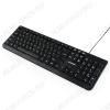 Клавиатура GK-115 Black поверхность шлифованный алюминий