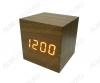 Часы электронные сетевые VST869-1 темно-коричневые