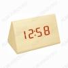 Часы электронные сетевые VST864-1 светло-коричневые