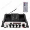 Радиоконструктор Усилитель 2х20Вт с медиаплеером USB/MP3/FM/MIC 6.35 HY600 Количество каналов 2*20Вт; Выход RMS; Вход 2*RCA; Питание 12В/5А -5.5мм гнездо; FM 87.5-108мГц; Размер 16.5*8.5*4см; пульт ДУ