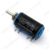 Потенциометр 10K WXD3-13-2W моно многооборотный