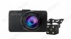 Видеорегистратор автомобильный D5 Full HD со 2-вынесенной камерой microSD - карта 4-32Gb; Li-ion аккумулятор; дисплей 3