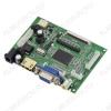 Радиоконструктор Контроллер для ЖК (LCD) дисплеев VS-TY2662 (PCB800099 V.9) Контроллер имеет 4 видеовхода: HDMI, VGA, AV1, AV2, которые с клавиатуры переключаются циклически в этом же порядке.