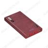 Аккумулятор внешний 13000mAh B36 Wooden красный