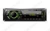 Автомагнитола  FP-303 green MP3; 2x40W, FM1/2/3 MW1/2 87,5-108 MHz, USB/SD/AUX,  DC12V, монохромный дисплей, фиксированная передняя панель