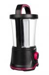 Фонарь AccuF5-L20W-bk кемпинг аккумуляторный 40 LEDx0.5Watt; встроенный аккумулятор 4V 2Ah; питание от 220В; световой поток 440Лм; время работы до 13ч