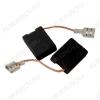 Щетки графитовые 6х16х22 (A0221) поводок, клемма, (2 шт) для Bosch H43
