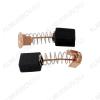 Щетки графитовые 6х10х11 (A0227) пружина, пятак, уши, (2 шт) для Интерскол УШМ-125900