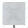 Антенна стационарнaя ZETA MIMO 2x2 для 3G/4G USB-модема 2G/3G/4G/LTE/WIFI; 1700-2700 MHz; 17.5-20dB; без кабеля; 2 разъема N-гнезда