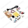 Радиоконструктор Регул.источник питания 1,25...12В 2W, набор для самостоятельной пайки лабораторного Комплектация: шнур питания, шнур с крокодилами, трансформатор, корпус, плата с LM317 и обвязкой