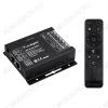 Контроллер для RGB модулей/лент VT-S11-3*8A RF-пульт (023316) RF; 12/24V; 24A (8A на канал); размеры 91*88*24мм;